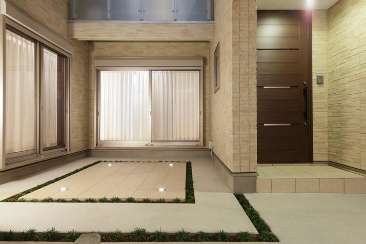 屋上と中庭のある家(練馬区K邸)1