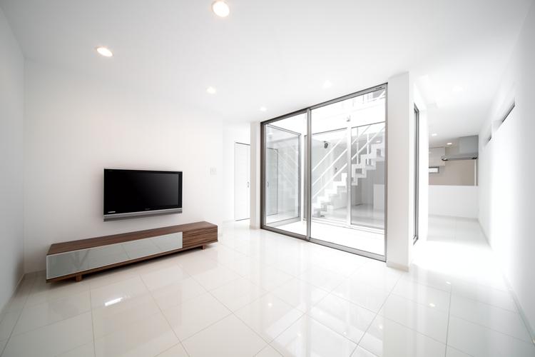 真っ白な家(さいたま市S邸)1